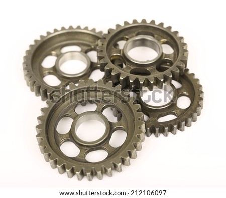 Gears set contacts