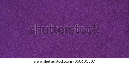 Genuine leather skin texture color purple.