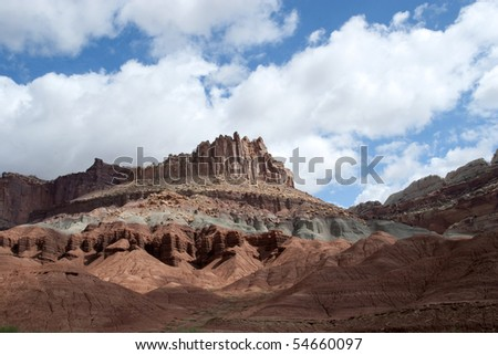 Geologic mountain