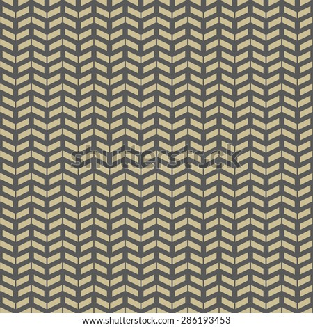 Geometric  pattern with triangles. Seamless abstract texture for wallpapers and backgrounds. Brown and golden colors