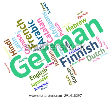 German Language Meaning Communication Foreign And Text