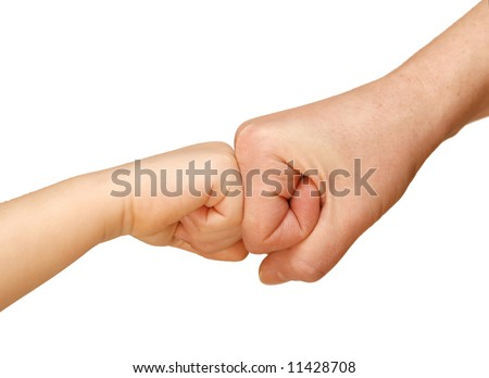 gesture of agreement, friendship, unification, hand