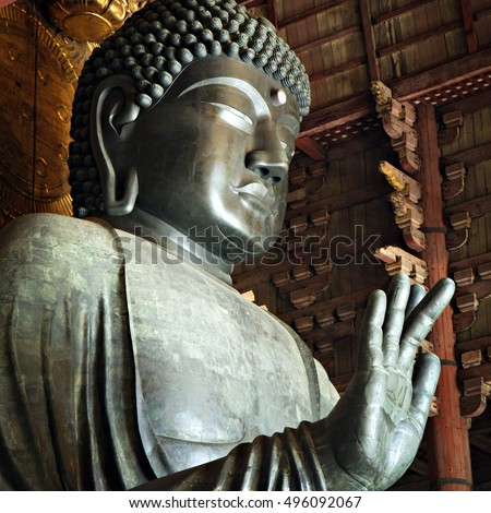Giant Buddha in Nara, Japan