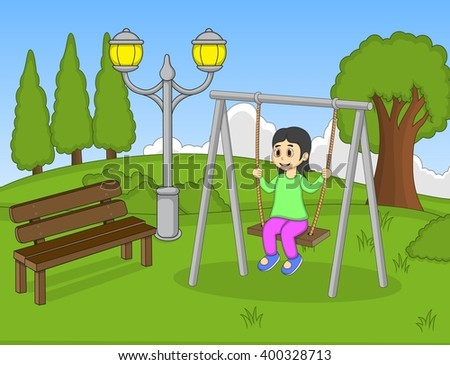 Friends Visiting Sick Child Vector Stock Vector 5486818