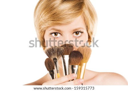 Girl with make-up