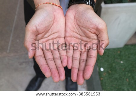 Empty Hands Stock Photo 74065864 - Shutterstock
