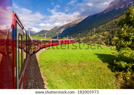 Glacier Express, Switzerland, UNESCO World Heritage Site