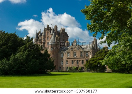 Glamis Castle, Scotland, UK