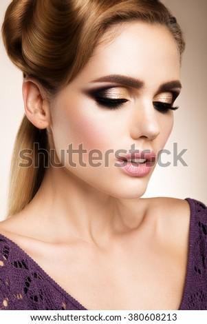 Glamour Portrait Beautiful Woman Model Fresh Stock Photo 90206206 - Shutterstock