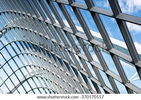 Modern Architecture Pattern glass framing design pattern modern architecture stock photo