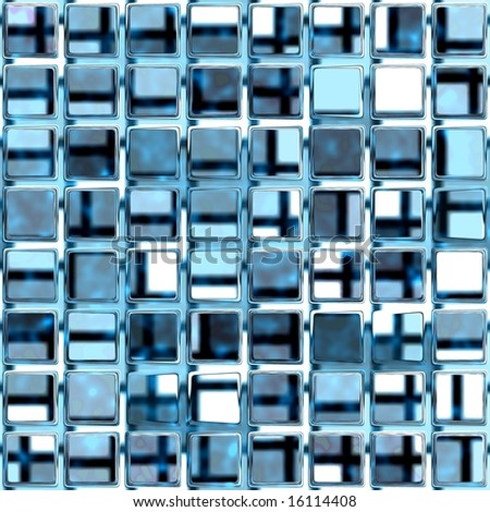 glass lattice seamless texture