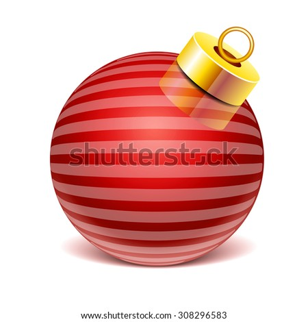Glass sphere Christmas toy