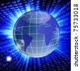 Globalisation the Internet of technologies - stock photo