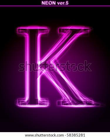 K Letter Images In Pink K letter pink
