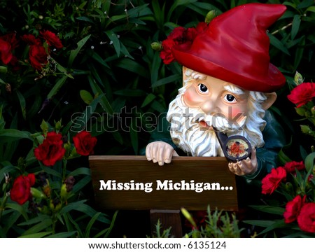 Gnome missing Michigan