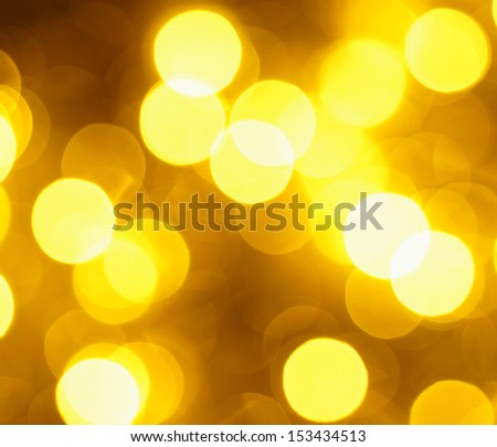 Gold Christmas Glittering background