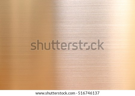 Gold color stainless steel background