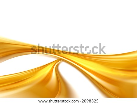 golden abstract composition
