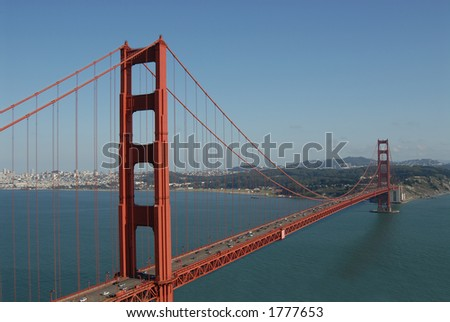 Golden Gate from Marin Headlands, San Francisco, California