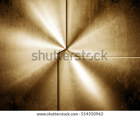 golden metal pattern background