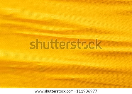 Golden silk cloth texture with wrinkle