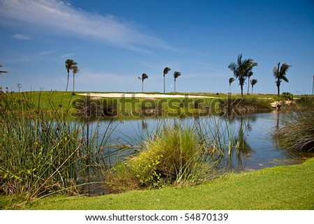 Golf Course on Captiva Island, Florida