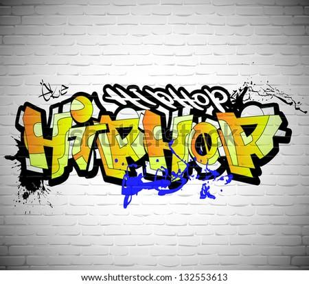 Funky Pictures Of Graffiti Art On Walls Motif - Wall Art Design ...