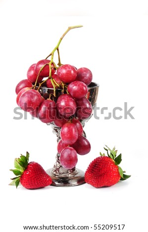 Grapes & strawberry