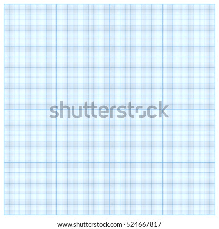 Paper Graph Grid Seamless Pattern Background Stock