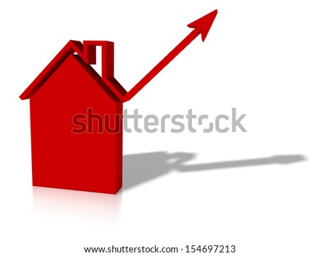 graphic of growth in housing or construction