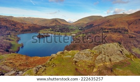 Grasmere Lake from Loughrigg.