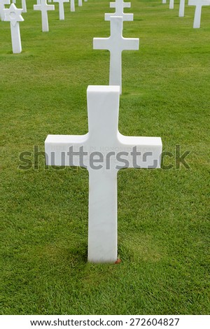 Grave in Normandy