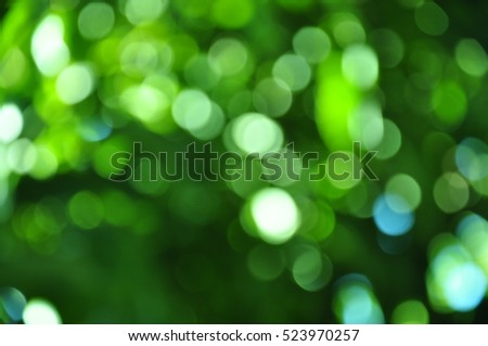 Green abstract.