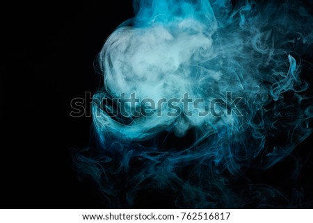 Skull Chain Abstract Smoke Stock Photo 39023374 - Shutterstock