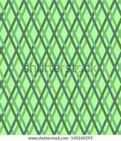 Green checked texture, seamless background