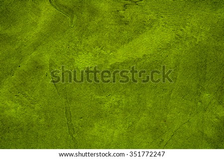 green concrete wall texture