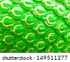 green dragon scales - stock photo