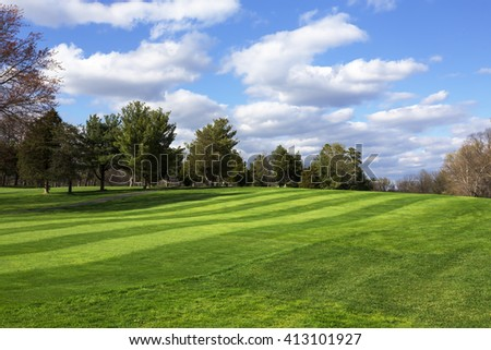 Grass Green Area Stock Photo 551990455 - Shutterstock
