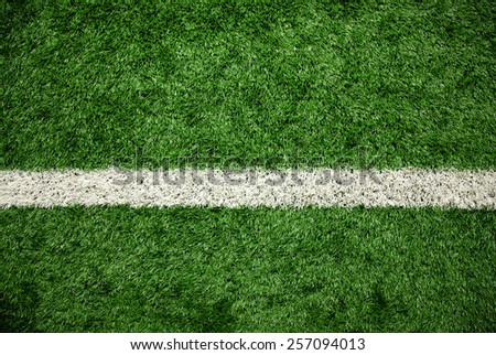 Green grass field, soccer field