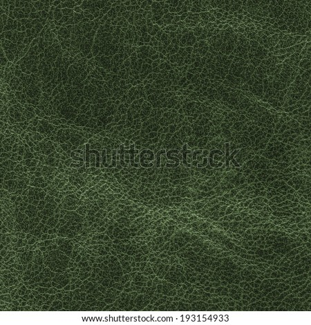 green leather texture as background