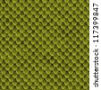 Green lizard skin seamless background or texture - stock photo