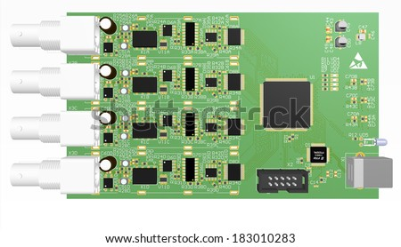 Green plate PCB manufacture of the device