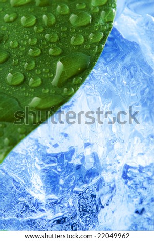 Closeup Shot Aquamarine Crystal On Dark Stock Photo ...