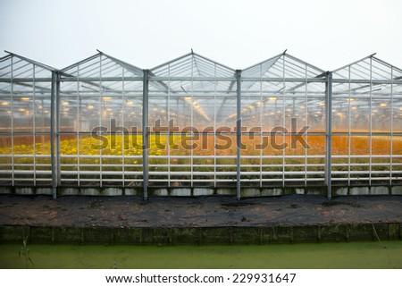 Warning Sign On Fence Surrounding Trinity Stock Photo