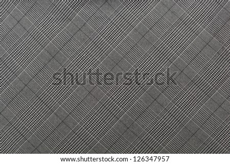 grey checked patterned textile background
