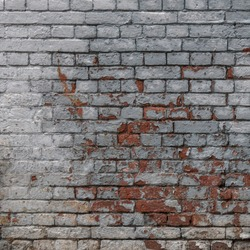 Grey Red White Wall Background Old Grungy Brick Vertical Texture With Layer