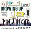 Growing Up Entertainment Hobby Young Concept - stock photo
