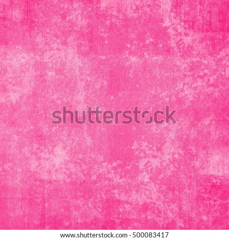 Grunge background in pink and white color, abstract pink background white spot top with gradient purple pink border, vintage grunge background texture, old distressed sponge grunge texture