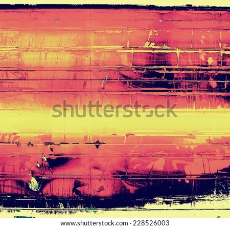 Grunge background with space for text or image. With different color patterns: yellow, brown, red, orange, purple (violet)