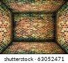 Grunge Brick Walls Background - stock photo